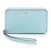 KATE SPADE - Cherry Lane Louie Zip Around Wristlet