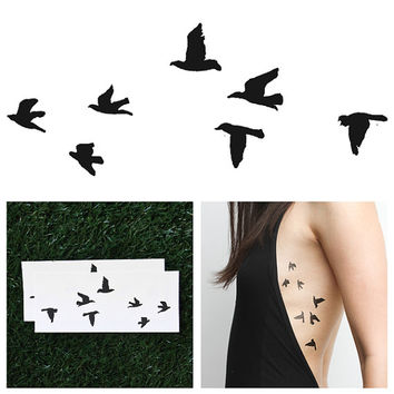 Flock Yeah - Temporary Tattoo (Set of 2)