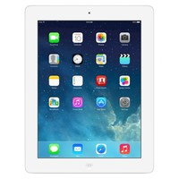Apple® 16GB iPad with Retina display Wi-Fi + Cellular (Sprint) - White (ME198LL/A)