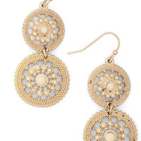 Shine is of the Essence Earrings | Mod Retro Vintage Earrings | ModCloth.com
