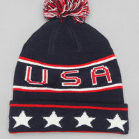 USA Throwback Beanie - Urban Outfitters