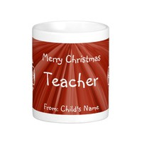 Merry Christmas Teacher Coffee Mug