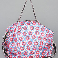 Karmaloop.com - Global Concrete Culture - The Passerby Handbag in Lip Smacker Print by LeSportsac