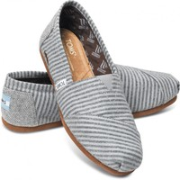 Movember Grey Stripe Wool Women's Classics