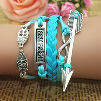 NT0002 Owl Arrow five cortical bracelet