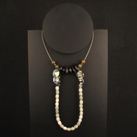 CCCHU Swarovski Crystal & Bead Necklace | Darkroom