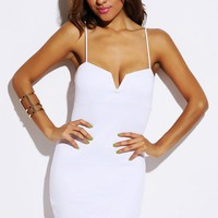 White V Party Dress