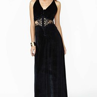 Jarlo Siobhan Velvet Maxi Dress