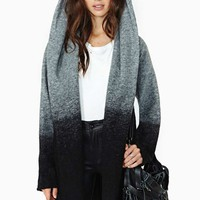 BB Dakota Slow Fade Hooded Coat