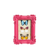 Decorative Pink Photo Frame