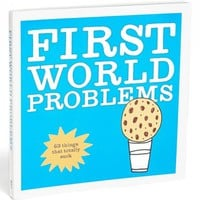 'First World Problems' Book | Nordstrom