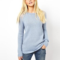 ASOS Sweater With Open Stitch Detail
