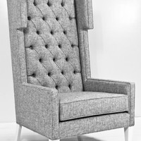 www.roomservicestore.com - Tangier Wing Chair in Zuma Pumice Textured Linen