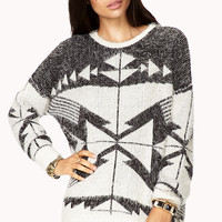 Worldly Eyelash Knit Sweater