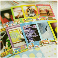 World Instax Mini Film Frame Sticker Set