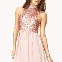 Dazzling Darling Sequined Dress