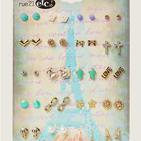 Paris Amour Earring 20-Pack | Earrings | rue21