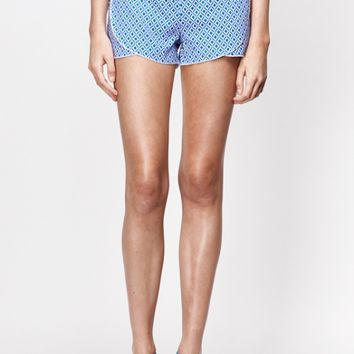 BOTTOMS :: Sporty Diamond Shorts - Love Triangle by i.d.s - i.d.s - Shop i.d.s clothing and accessories online now