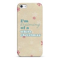 Im dreaming of a white Christmas iPhone & iPod case by Sylvia | Casetagram