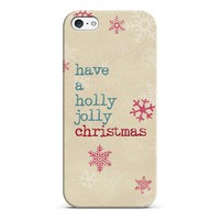 have a holly jolly Christmas iPhone & iPod case by Sylvia | Casetagram