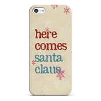 here comes santa claus iPhone & iPod case by Sylvia | Casetagram
