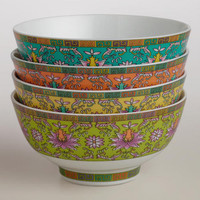 Shanghai Rice Bowls, Set of 4
