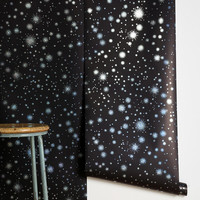 Graham & Brown Star-Struck Wallpaper- Black One
