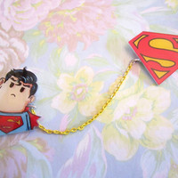 Sweater Guard, Collar Clips, Cardigan Clips, Superman