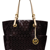 MICHAEL Michael Kors Handbag, Signature Patent East West Tote