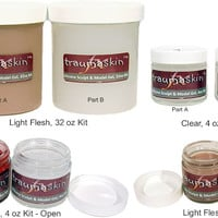 TraumaSkin FX™ Silicone Sculpt and Model Gel, Silicone, Gelatins, Latex, Waxes, Plastics The Paint and Powder Store