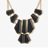 Angular Gemstones Necklace