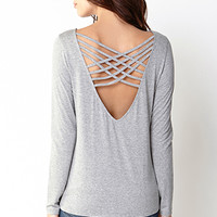 Standout Lattice Back Top