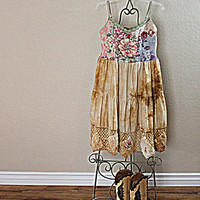 Gypsy Girl Upcycled Clothing | Urban Cowgirl Clothes | Women's Boho Dress