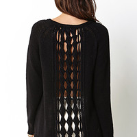 Cozy Open Back Sweater