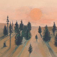 Break of Day - limited edition art print of original painting