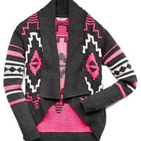Little Traveler Neon Cardigan (Kids)