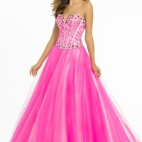 Blush 5319 at Prom Dress Shop