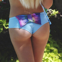 Create Your Own Custom Boy Short Bikini Cheeky Bow Bottom Size XS 0/1, S 2/3/4, M5/6 Swimsuit
