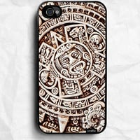 Maya Calendar iPhone Hard Case / Fits iPhone 4 4s by CRAFIC