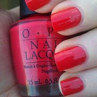 OPI Red Hot Ayers Rock NLA47 Nail Polish