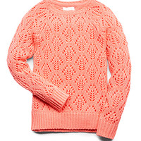 Favorite Open-Knit Sweater (Kids)