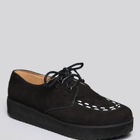 St. Marks Creeper Shoe - Black - Shoes | GYPSY WARRIOR