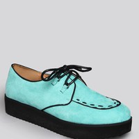 St. Marks Creeper Shoe - Mint - Shoes | GYPSY WARRIOR