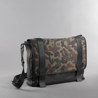 Kenneth Cole Camo Canvas Messenger