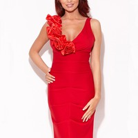 Amy Childs Melissa Corsage Dress