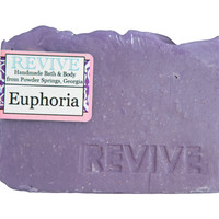 Euphoria Natural Jasmine, Rose, and Sandalwood Cold Process Vegan Soap Bar