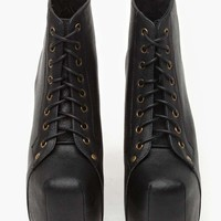 Jeffrey Campbell Lita Platform Boot - Black