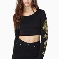 Gilty Pleasure Crop Top