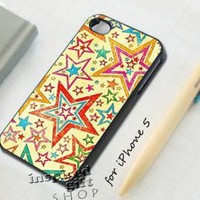 Vintage star layer - design case for iPhone 5