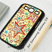 Vintage star layer - design case for Samsung Galaxy S3